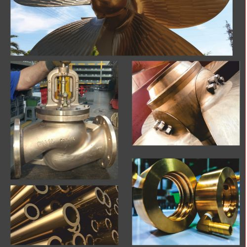 Bronze Propellers & Ship Spare Parts