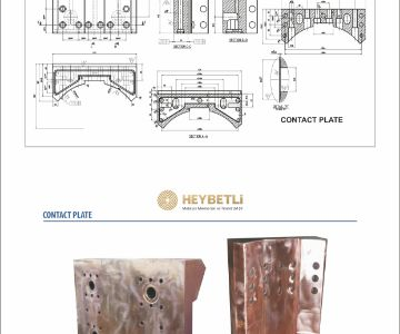 Copper Contact Plate