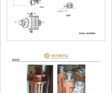 Copper Shell Burner